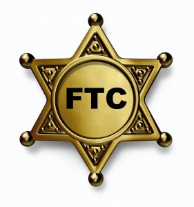 FTC Sheriff Badge - letters